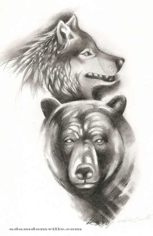Wolf and Bear wm2